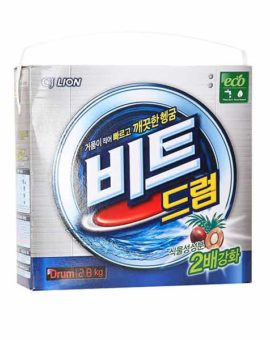 Корейский порошок - автомат с пальмовым экстрактом CJ LION Beat Drum описание отзывы купить бытовая химия Кореи в интернет магазине в Москве недорого скидки
