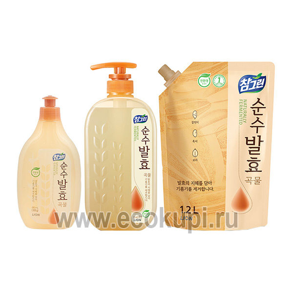 Корейское средство для мытья посуды CJ LION CHG Pure Fermentation Grain выгодно и недорого купить гель для мытья посуды система разовых накопительных скидок