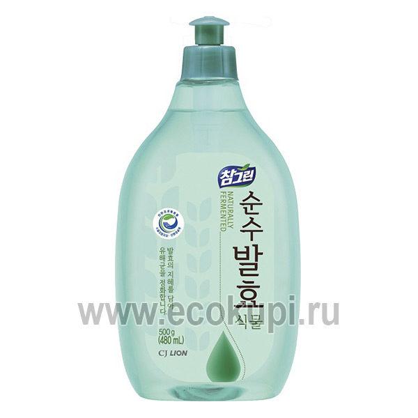 Корейское средство для мытья посуды CJ LION CHG Pure Fermentation Plant выгодно и недорого купить моющие средства для мытья посуды самовывоз Санкт-Петербург