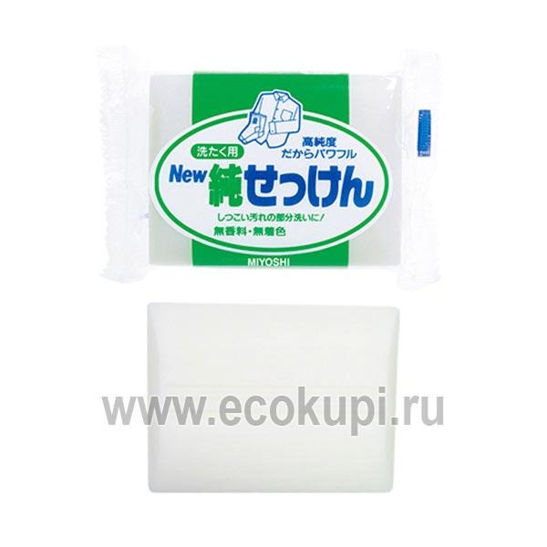 купить японское мыло для точечного застирывания стойких загрязнений MIYOSHI по выгодной цене, лучшее предложение японская химия для домашнего быта, скидки