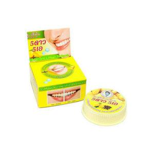 Травяная отбеливающая зубная паста с экстрактом Манго 5 Star Cosmetics, купить зубную пасту выгодно со скидкой, подробное описание отзывы клиентов доставка