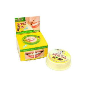 Травяная отбеливающая зубная паста с экстрактом Ананаса 5 Star Cosmetics, купить лучшая зубная щетка и зубная паста интернет магазин товары Тайланда Москва