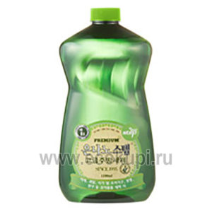 Корейская жидкость для мытья посуды с серебром KMPC Nano Silver Step Dish Washing Liquid недорого купить средство для мытья посуды выгодная цена, распродажа