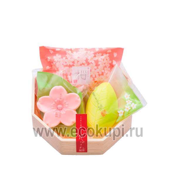 Японский подарочный набор туалетного мыла Цветы и Травы MASTER SOAP, купить новогодние подарочные наборы недорого, самовывоз пункты выдачи заказов в Москве