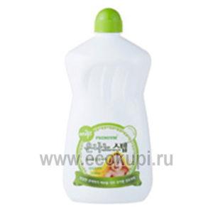Корейское жидкое средство для стирки детского белья KMPC BABY STEP Laundry Detergent, недорого купить средства стирка детского белья, курьерская доставка