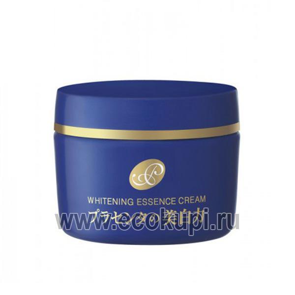 Японский крем - эссенция с экстрактом плаценты с отбеливающим эффектом MEISHOKU Placenta Essence Cream, дешево купить маску на основе крема интернет магазин
