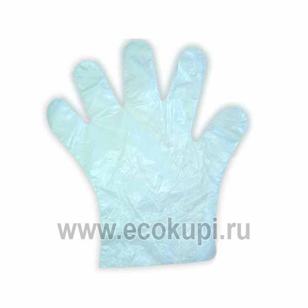 Перчатки хозяйственно-бытового назначения полиэтиленовые эконом-класс MYUNGJIN Hygienic Gloves Economical, выгодно и недорого купить перчатки хозяйственные
