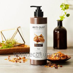 Корейский гель для душа глубокое очищение тростниковый сахар Kerasys Shower Mate Anti-Dust Body Wash купить корейские и японские товары интернет магазин