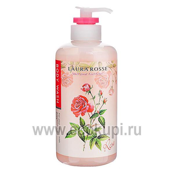 купить жидкое мыло для тела ароматерапия четыре варианта аромата, магазин корейских товаров, корейские прокладки корейские маски для лица косметика из кореи