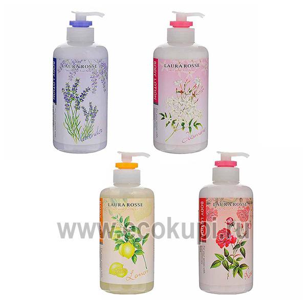 Корейский лосьон молочко для тела ароматерапия роза LAURA ROSSE, товары из кореи, корейские товары для детей, магазин корейских товаров, корейские прокладки
