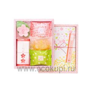 Японский подарочный набор туалетного мыла Цветы и Травы MASTER SOAP, купить недорого подарочные наборы косметики, самовывоз из ПВЗ Нижнем Новгороде, скидки
