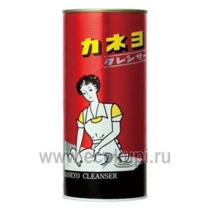 Японский чистящий порошок для кухни и ванной комнаты KANEYO Red Cleanser, бытовая химия япония интернет магазин хозяйственных товаров москва доставка скидки