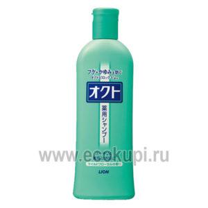 Японский шампунь для профилактики перхоти и зуда кожи головы с цветочным ароматом LION Оct, косметика для волос из японии шампуни, кондиционеры, бальзамы
