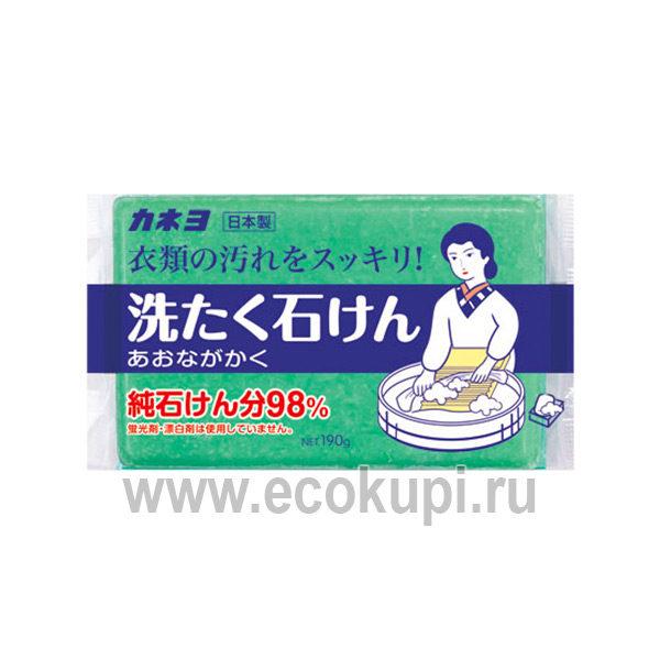 Японское мыло для удаления загрязнений с воротников и манжет KANEYO, кондиционер для белья из японии в интернет магазине с доставкой по Москваеи по России