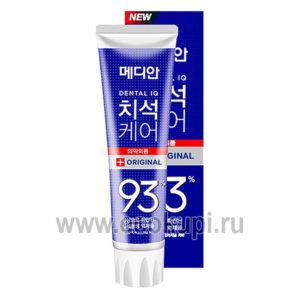 Зубная паста с микрочастицами от зубного камня MEDIAN Original 93% Toothpaste, средства гигиены полости рта в интернет магазине самовывоз доставка в Москве