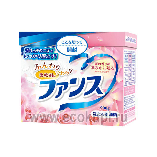 Стиральный порошок концентрированный 2 в 1 с кондиционирующим эффектом DAIICHI Funs Laundry Detergents with Softener, японский стиральный порошок отзывы