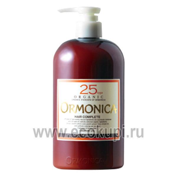 Японский органический бальзам для ухода за волосами и кожей головы ORMONICA Organic Scalp Care Complete, магазин косметических средств ухода за кожей головы