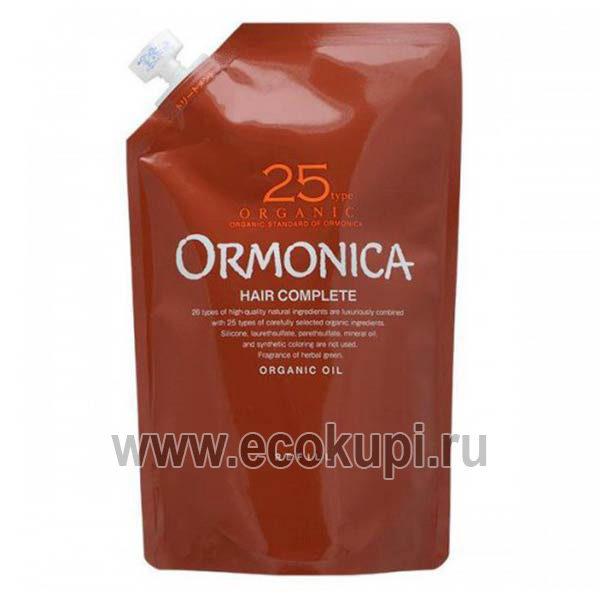 Японский органический бальзам для ухода за волосами и кожей головы ORMONICA Organic Scalp Care, купить недорого высококачественную органическую косметику