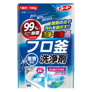 Чистящий порошок для джакузи и гидромассажных ванн Rookie Powder Bathtub Cleaner with Baking Soda Oxygen-Type, хозяйственные товары из Японии Кореи в Москве
