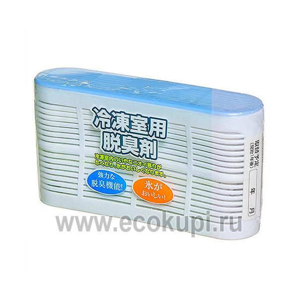 Японский поглотитель неприятных запахов для морозильной камеры Kokubo, купить недорого гелевые освежители из Японии Кореи интернет магазин Экокупи в Москве