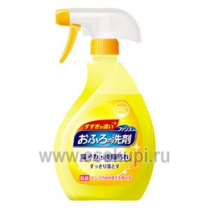 Пенящийся спрей для чистки в ванной комнате с ароматом апельсина и мяты DAIICHI Funs Bathroom Cleaner Orаnge Mint, магазин японской корейской бытовой химии