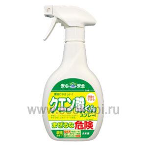 Японский спрей чистящий для кухни с лимонной кислотой KANEYO, интернет магазин высококачественной бытовой химии Японии в Москве. описание отзывы доставка