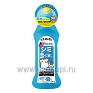 Японский пятновыводитель для удаление пищевых пятен перед стиркой LION Top, купить хозяйственное мыло по лучше цене интернет магазин. самовывоз МСК, СПБ, НН