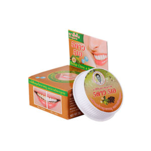 Травяная отбеливающая зубная паста с экстрактом Нони 5 Star Cosmetics, купить недорого ополаскиватель для рта, купить жесткая зубная щетка, выгодные цены