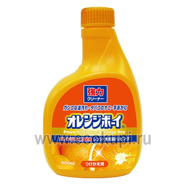 Многоцелевой чистящий гель-спрей DAIICHI Powerful Cleaner Orange Boy, купить хозтовары оптом из японии интернет магазин японских товаров, распродажи, скидки