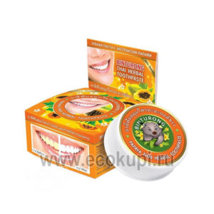Зубная паста противовоспалительная с экстрактом папайи BINTURONG Papaya Thai Herbal купить товарыгигиена полости рта подробное описание