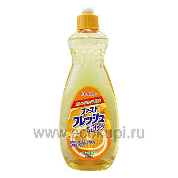 Жидкость для мытья посуды с ароматом апельсина DAIICHI, купить средства для посудомоечных машин из Кореи и Японии недорого, отзывы клиентов, скидки и акции