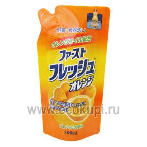 Жидкость для мытья посуды с ароматом апельсина DAIICHI, купитьантибактериальное средство для мытья посуды овощей и фруктов, удобные условия доставки заказа