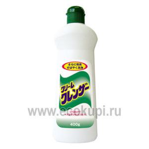 Чистящий крем для удаления трудновыводимых загрязнений без царапин без аромата DAIICHI, дешево купить щетка для уборки кухня ванная интернет магазин Экокупи