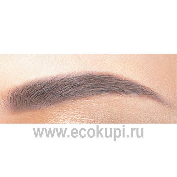 Японский карандаш для бровей влагостойкий Koji Honpo Triangle Eyebrow, купить косметику выразительности глаз Японии интернет магазин Ecokupi Экокупи Москва