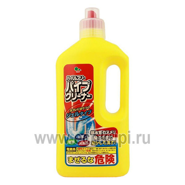 Очиститель для труб MITSUEI, купить бытовая химия из Японии, очень удобные условия доставки заказа курьером самовывозом услугами Почты России Боксберри СДЭК