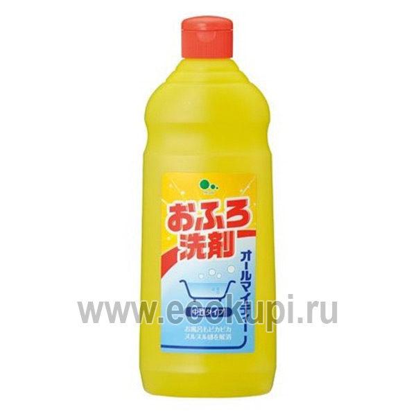 Средство для чистки ванн без аромата Mitsuei All Mighty, купить моющие средства интернет магазин бытовой химии Кореи Японии Тайланда Китая Ecokupi Экокупи