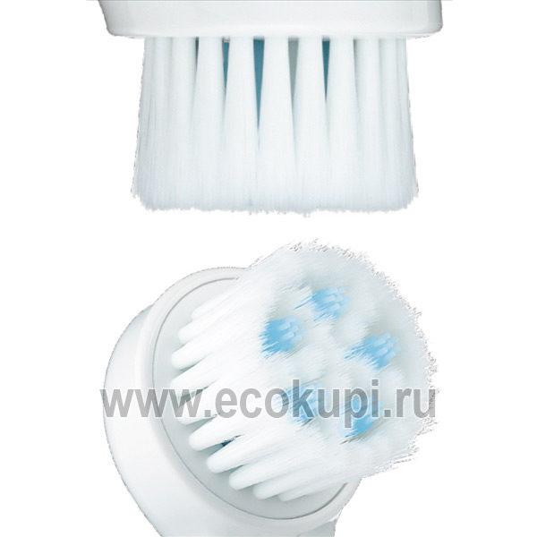Японская массажная щеточка для очищения пор BCL Tsururi Massaging Pore Cleansing Brush, купить увлажняющий крем из натуральных ингредиентов по выгодной цене