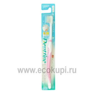 Зубная щетка с компактной чистящей головкой и тонкими кончиками щетинок жесткая CREATE Dentfine Tapered купить натуральную зубную пасту