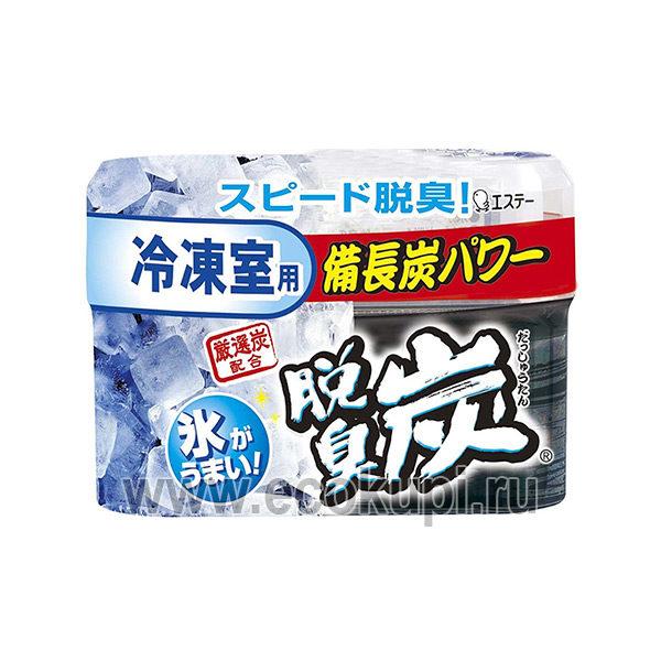 Желеобразный дезодорант с древесным углем морозильной камеры холодильника ST CORPORATION Dashshuutan, купить поглотитель запаха сырого мяса рыбы и овощей