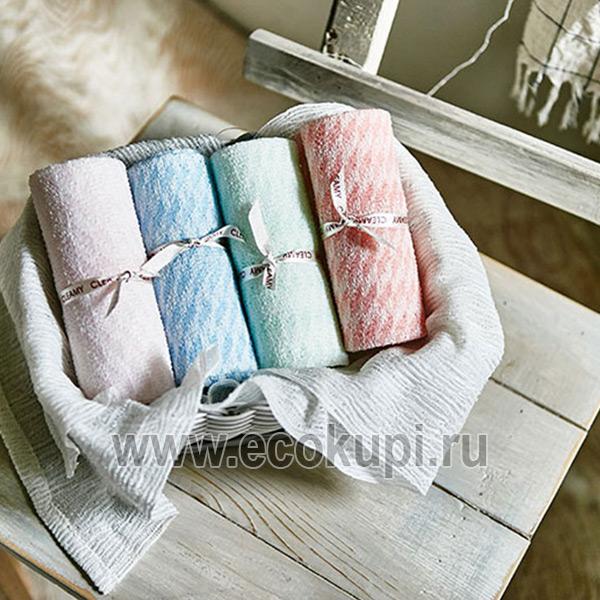 недорогая и качественная корейская мочалка для душа средней жесткости SungboCleamy Shower Towel Dream's интернет магазин хозяйственных товаров Кореи Японии
