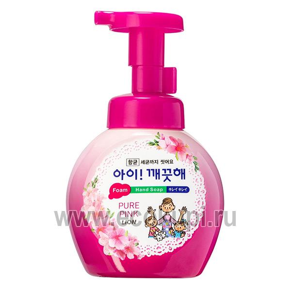 купить пенное мыло для рук с антибактериальным эффектом Цветочный букет CJ LION Ai Kekute Soap натуральный увлажняющий крем для рук