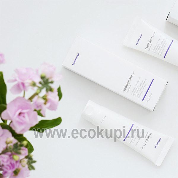 Корейская зубная паста комплексного действия DENTAL CARE Plainhouse Toothpaste, купить недорого лечебная зубная паста, интернет магазин товаров для гигиены