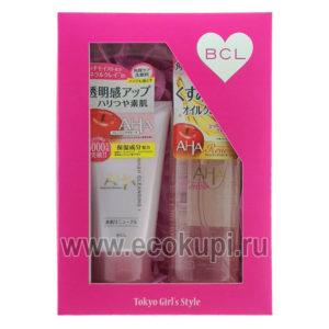 Подарочный набор Двойное очищение Cleansing Research пенка скраб для лица+увлажняющее масло для снятия макияжа купить набор косметики подарок