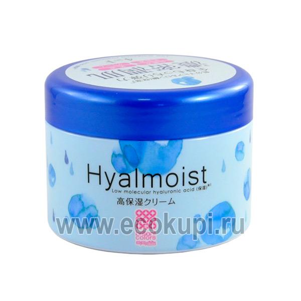 Японский крем-гель 4 в 1 для ухода за зрелой кожей Meishoku Hyalmoist Perfect Gel Cream купить качественные товары Японии и Кореи магазин уходовой косметики