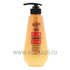 Японская маска для укрепления и роста волос против перхоти Junlove Scalp Clear Treatment, купить несмываемую маску, уходовая косметика волос