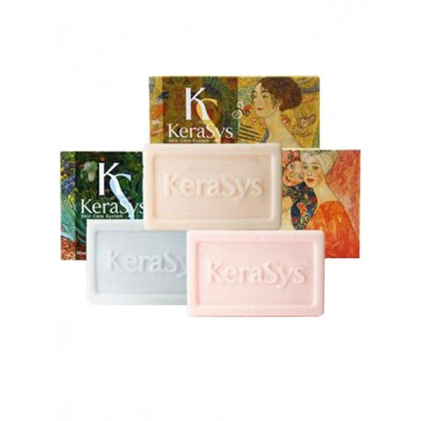 корейское мыло косметическое с миндальным маслом Kerasys Silk Moisture, купить со скидкой жидкое мыло для тела ароматерапия, интернет магазин для всей семьи