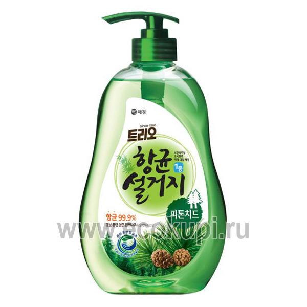 Корейское средство для мытья посуды фитонциды Kerasys Phytoncide Antibacterial Dishwashing, купить бытовая химия изЯпониииКореи по выгодной цене и скидке
