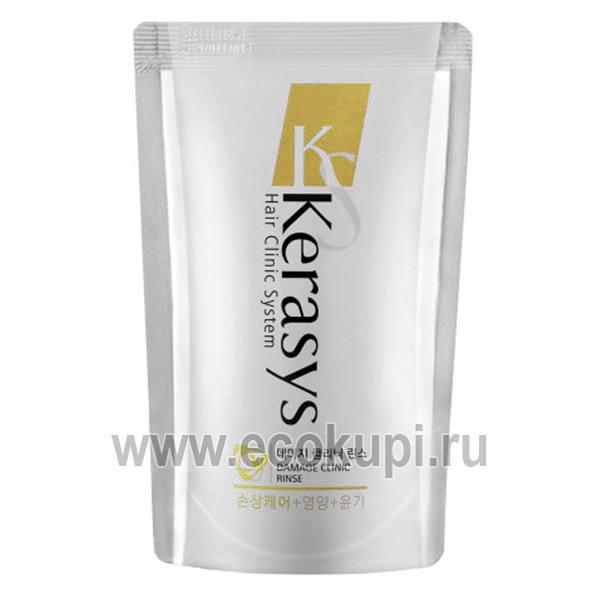 Оздоравливающий кондиционер для тонких и ослабленных волос Kerasys Revitalizing Conditioner купить косметику для волос из Кореи для всей семьи со скидкой
