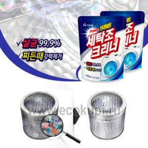 Корейское порошковое средство для чистки барабанов стиральных машин MUKUNGHWA, купить недорогую бытовую химию для стирки полная информация продукте доставка