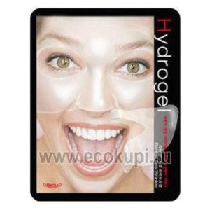 Корейская антивозрастная гидрогелевая маска для лица BeauuGreen Renew Anti-wrinkle HydrogelMask, купить омолаживающую косметику с доставкой по всей России